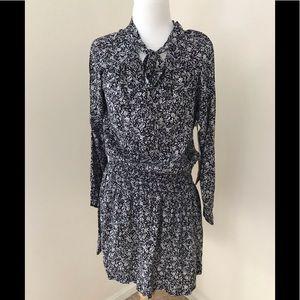 NWT! Knot sisters medium black multi ivy dress